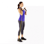 Bicep Curl with Resistance Band1