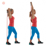 Resistance Band Triceps Extension
